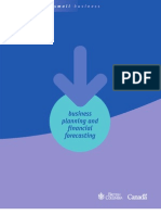 Business Planning and Financial Forecasting (PDF)