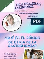 Codigo de Eetica en La Gastronomia (1)