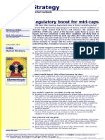 India Strategy (Regulatory Boost for Mid-caps) - CLSA