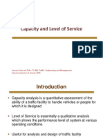 Capacity and Level of Service1