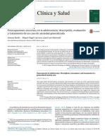 (Estudio de Casos) Preocupaciones Excesivas en La Adolescencia. Descripción, Evaluación y Tratamiento de Un Caso de Ansiedad Generalizada. 2015 - Basile, Carrasco y Martorell