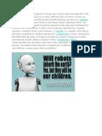 Robotic of Report
