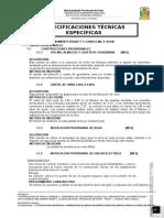 Especificaciones Técnicas Df