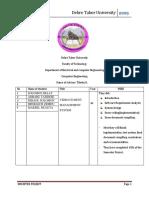 Debre Tabor University Semester Projects Status