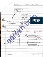 Moment of Inertia, Bending Stresses Nd Shear Stresses -26.06.12 - Notes