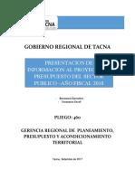 Presentacion Resumen Ejecutivo Pia 2018