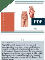ASUHAN KEPERAWATAN Appendicitis  power point