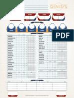 Genesys Character Sheet