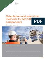 INSITER D1.6 Analytical Methods for MEP-HVAC Final