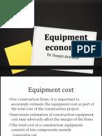 Equipment Economics