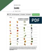 m4-t6 Fruits Et Légumes