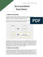 ¿Qué es un problema? Bruno Munari