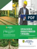 Brochure Gerencia de Producciónde Operaciones 2017