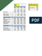 Financial Ratios & DoPont Analysis