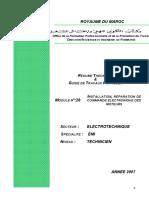 M28_Installation, Réparation Commande Électronique de Moteur