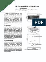 A Detecton Algorithm of Lpi Radar Signals