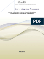 AICPA-Internal Control - Integrated Framework_ Internal Control Over External Financial Reporting_ a Compendium of Approaches and Examples (2014)