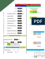 Beam Design With Excel (Coefficient Method)