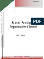 L01b - Strumenti Formali Di Rappresentazione Di Processo