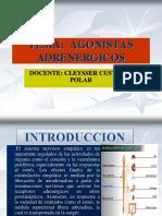 Agonistas Adrenergicos Clase
