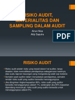 Risiko Audit, Materialitas Dan Sampling Dalam Audit