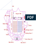 Convention Centre Layout