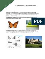Unidad 1 Teoria de La Composicion y La Organización Formal