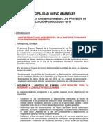 SESIÓN 15 Desarrollo de Un Informe de Auditoria