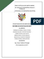 Informe Investigacion de Mercados MOY PARK