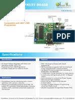 8051 Development Board Datasheet