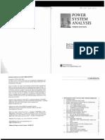 Power System Analysis-third edtion