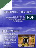 Presentecion Perforacion Rajos Open Stope.