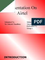 Airtel Strategy