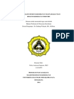 Analisa Hukum Kesehatan Masyarakat Dan Individu