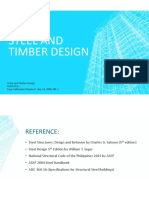 Introduction to Steel and Timber Design