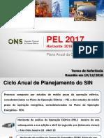 PEL 2017 - TR