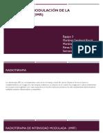 Intensidad y Modulación de La Radioterapia (IMR)