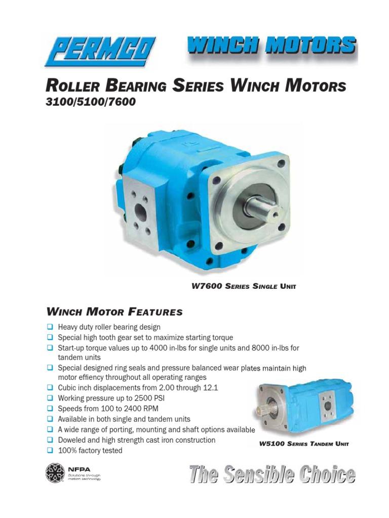 Winch Motor Catalog   Gear   Torque