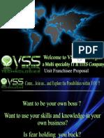 VSS Technologies Franchising