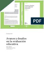 Avances y Desafíos de La Evaluación Educativa (Seleección)