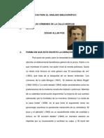CRIMENES DE LA CALLE MORGUE ANALISIS LITERARIO PNP.docx