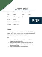 contoh status blok IV(delviana, gravid aterm+anemia gravis,nifas+laktasil)