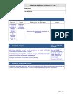 Modelo Dgti Termo de Abertura Do Projeto v1