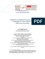 Visibilidad e Invisibilidad de La Prisión Política en Argentina. La Cárcel Vidriera de Villa Devoto (1974-1983)