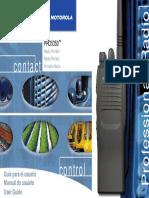 Motorola PRO 5350 Español- Manual