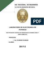 Tercer Informe de Electronica de Poten