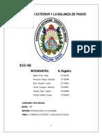 ✔Comercio exterior y balanza de pagos  YOSELIN PANIAGUA revisado
