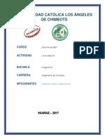 Actividad Nro. 04 - Investigación Formativa