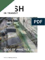 Cash in Transit Code of Practice