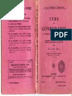 Curs de Gospodarie an 1929